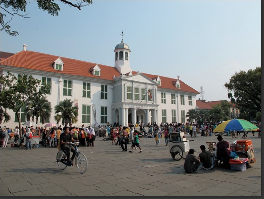 Old Town Hall in Jakarta